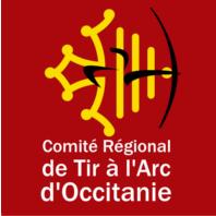 logo comité régional de tir à l'arc d'Occitanie